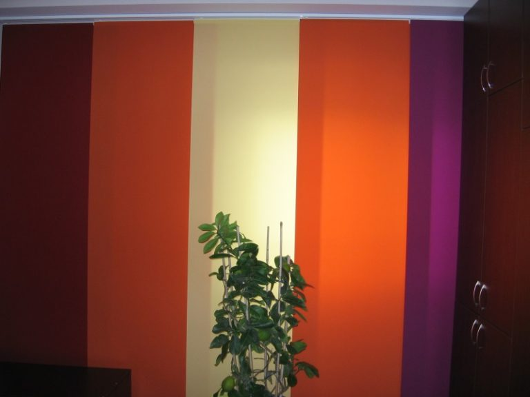 panouri colorate